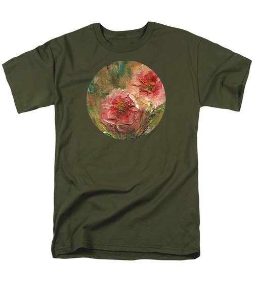 Poppies Men's T-Shirt  (Regular Fit) by Mary Wolf