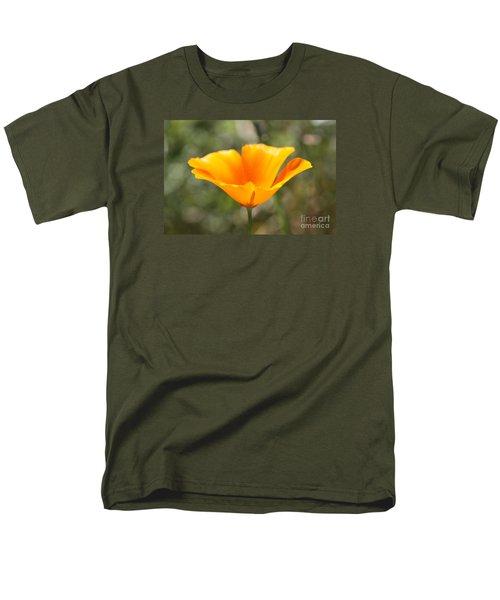 Poppy Flower Men's T-Shirt  (Regular Fit) by Cathy Dee Janes