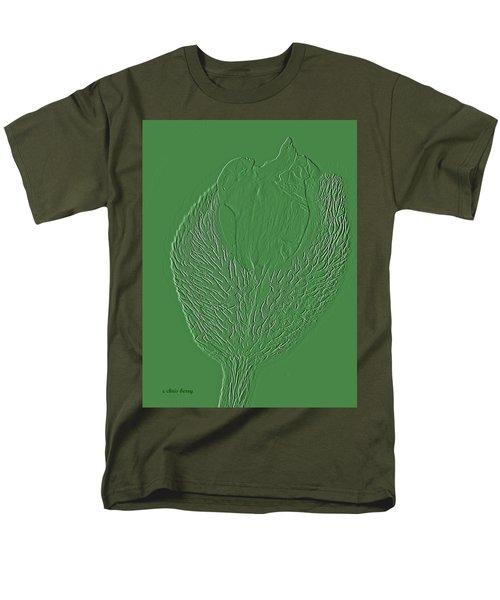 Poppy Embossing  Men's T-Shirt  (Regular Fit)