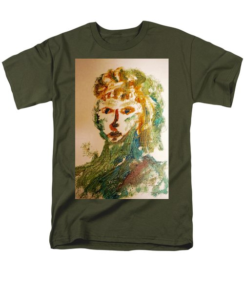 Portrait Of A Girl  Men's T-Shirt  (Regular Fit) by Shea Holliman