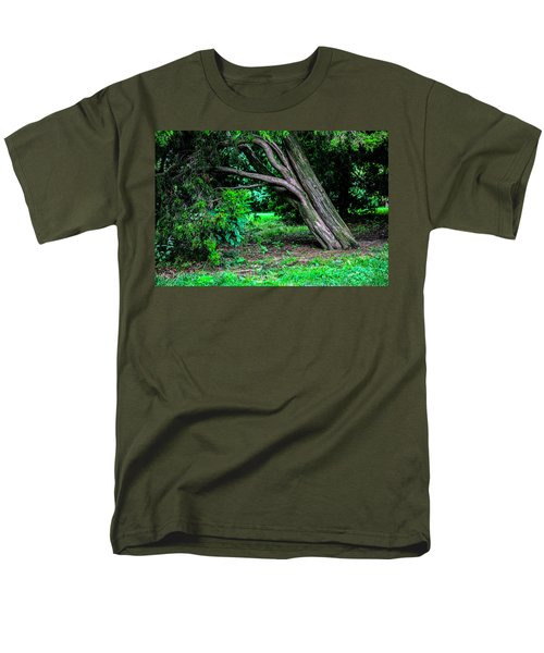 Men's T-Shirt  (Regular Fit) featuring the photograph Portrait Of A Tree by Madeline Ellis