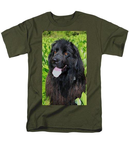 Portrait Of Sierra Men's T-Shirt  (Regular Fit) by Sean Sarsfield