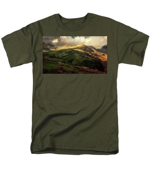 Postcard From Scotland Men's T-Shirt  (Regular Fit) by Jaroslaw Blaminsky