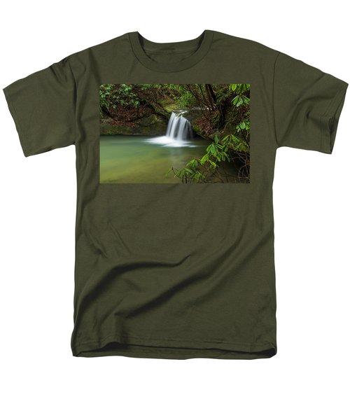 Pounder Branch Falls # 2 Men's T-Shirt  (Regular Fit)