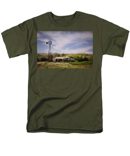 Prairie Farm Men's T-Shirt  (Regular Fit) by Lana Trussell