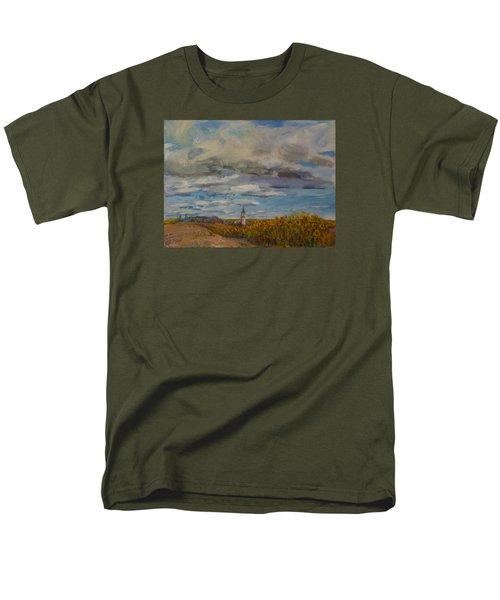Prairie Town Men's T-Shirt  (Regular Fit) by Helen Campbell