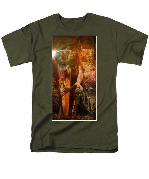 Praise Him With The Harp II Men's T-Shirt  (Regular Fit) by Anastasia Savage Ealy