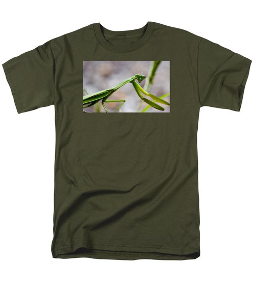 Praying Mantis Looking Men's T-Shirt  (Regular Fit) by Jonny D