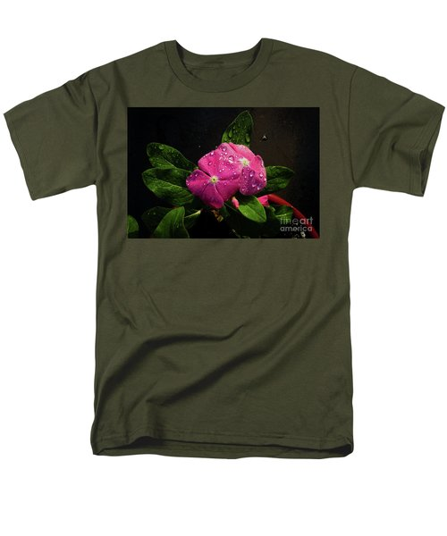 Men's T-Shirt  (Regular Fit) featuring the photograph Pretty In Pink by Douglas Stucky