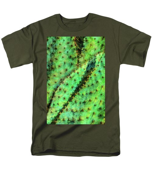 Men's T-Shirt  (Regular Fit) featuring the photograph Prickly by Paul Wear