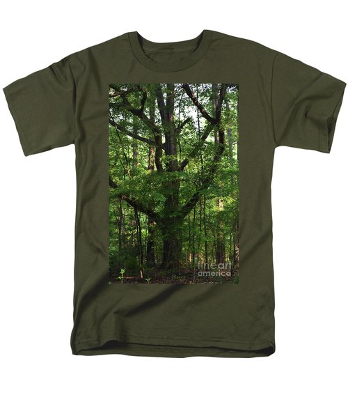 Men's T-Shirt  (Regular Fit) featuring the photograph Protecting The Children by Skip Willits