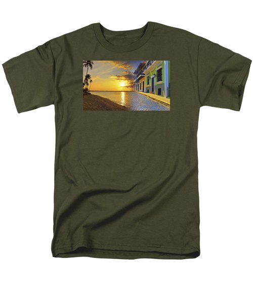 Puerto Rico Montage 1 Men's T-Shirt  (Regular Fit) by Stephen Anderson