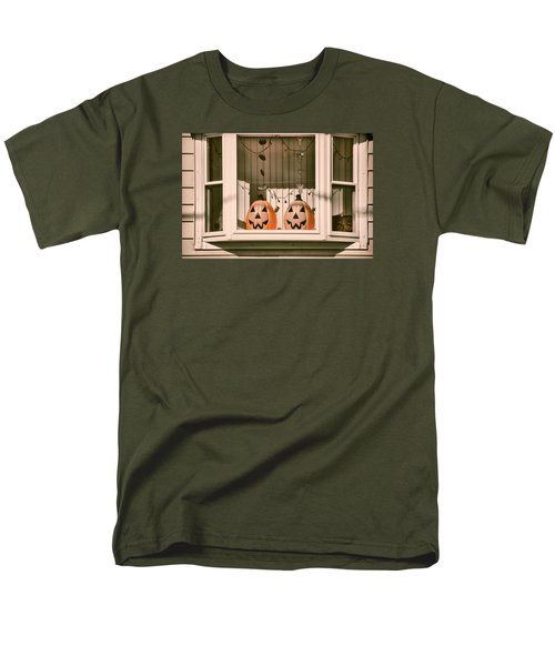Pumpkins Of The Past Men's T-Shirt  (Regular Fit)