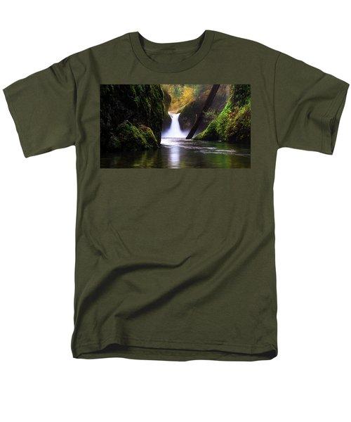 Punch Bowl  Men's T-Shirt  (Regular Fit) by Bjorn Burton