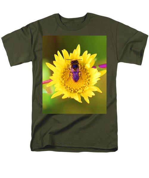 Purple Wings Men's T-Shirt  (Regular Fit) by John King
