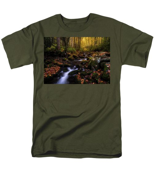 Put A Fork In It Men's T-Shirt  (Regular Fit) by Bjorn Burton