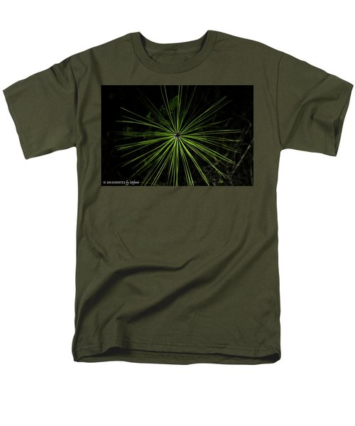 Pyrotechnics Or Pine Needles Men's T-Shirt  (Regular Fit)