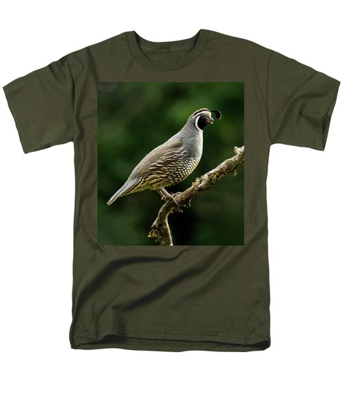 Quail  Men's T-Shirt  (Regular Fit)