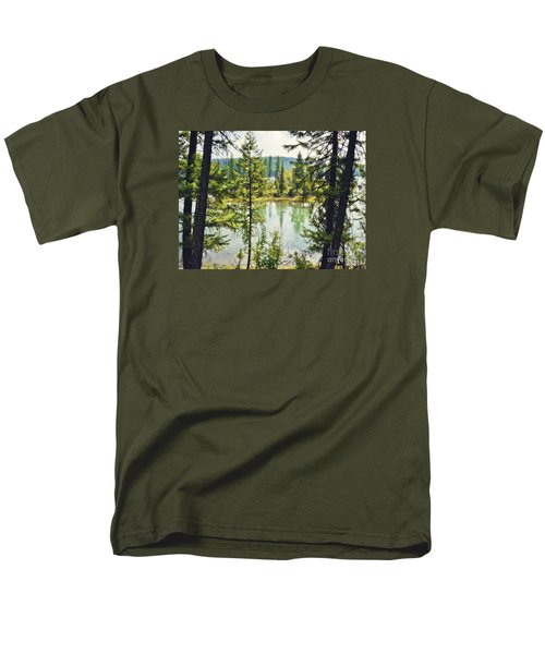Men's T-Shirt  (Regular Fit) featuring the photograph Quaint by Janie Johnson