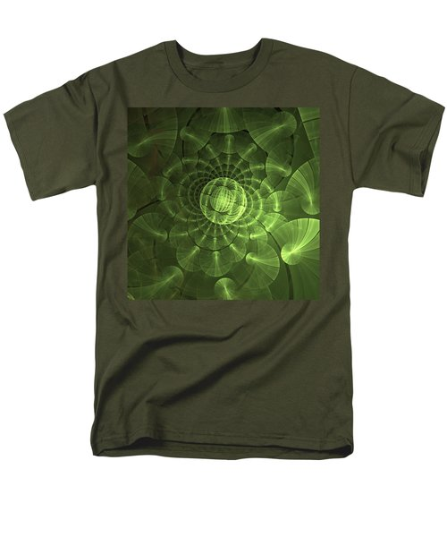 Quantum Plasma Signature Men's T-Shirt  (Regular Fit) by Lea Wiggins