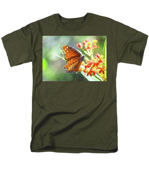 Queen Butterfly Men's T-Shirt  (Regular Fit) by Inspirational Photo Creations Audrey Woods