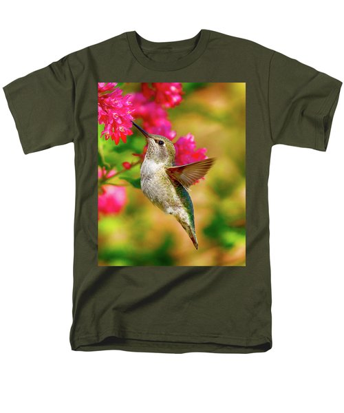 Quick Lunch Men's T-Shirt  (Regular Fit) by Sheldon Bilsker