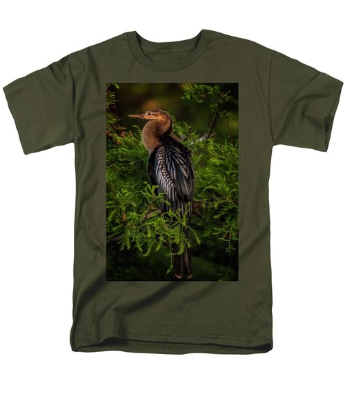 Quietude Men's T-Shirt  (Regular Fit) by Cyndy Doty