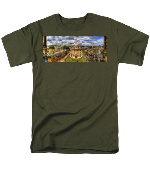 Radcliffe Camera Panorama Men's T-Shirt  (Regular Fit) by Yhun Suarez