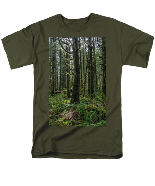 Rain Forest Of Golden Ears Men's T-Shirt  (Regular Fit) by Pierre Leclerc Photography