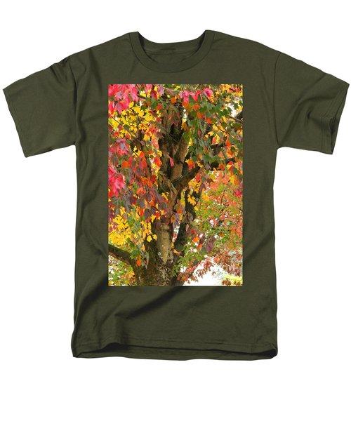 Rainbow Maple Men's T-Shirt  (Regular Fit)