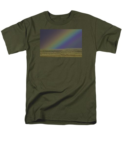 Rainbows End Men's T-Shirt  (Regular Fit) by Elizabeth Eldridge