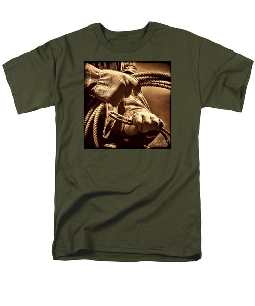 Ranch Hands Men's T-Shirt  (Regular Fit) by American West Legend By Olivier Le Queinec
