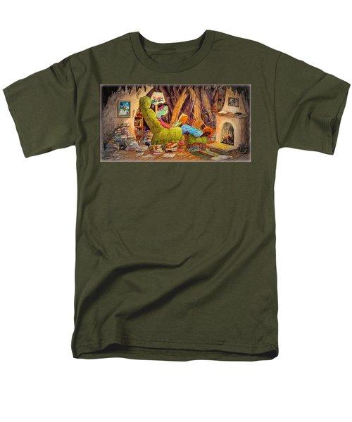 Reading Is Magic Pg 1 Men's T-Shirt  (Regular Fit) by Matt Konar