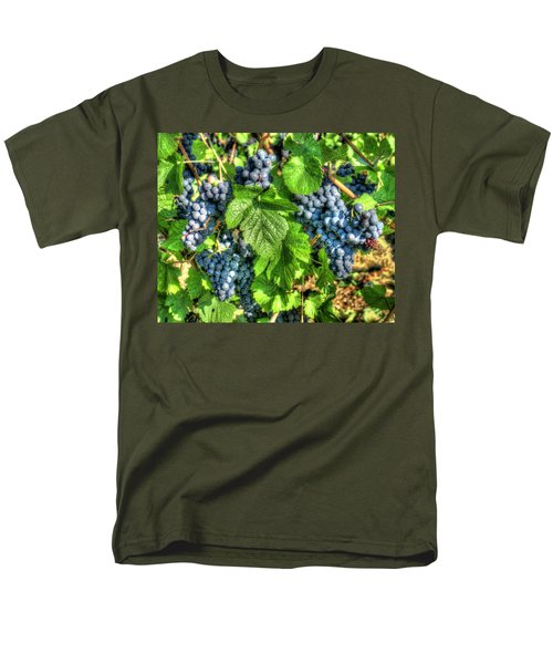 Men's T-Shirt  (Regular Fit) featuring the photograph Ready For Harvest by Alan Toepfer