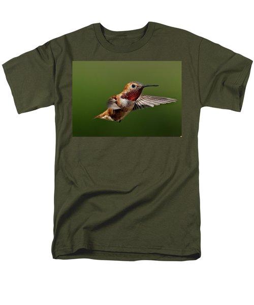 Ready Men's T-Shirt  (Regular Fit) by Sheldon Bilsker