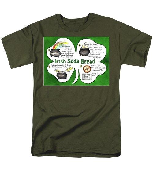 Recipe - Irish Soda Bread Men's T-Shirt  (Regular Fit)