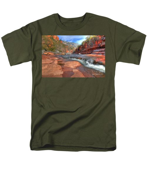 Men's T-Shirt  (Regular Fit) featuring the photograph Red Rock Sedona by Kelly Wade
