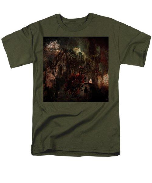 Red Sunflower Men's T-Shirt  (Regular Fit)
