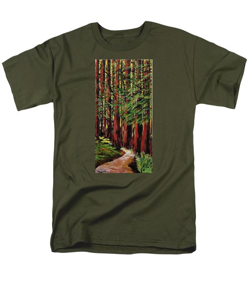 Redwoods Majestic 1 Men's T-Shirt  (Regular Fit) by Mike Caitham