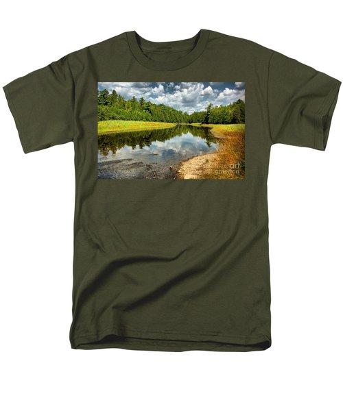 Reflection Of Nature Men's T-Shirt  (Regular Fit) by Joe  Ng