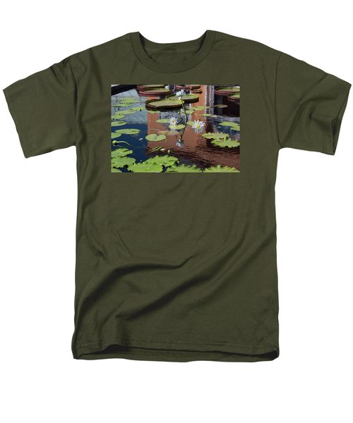 Men's T-Shirt  (Regular Fit) featuring the photograph Reflections II by Suzanne Gaff