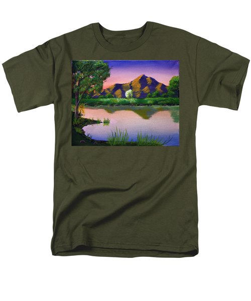 Reflections In The Breeze Men's T-Shirt  (Regular Fit)