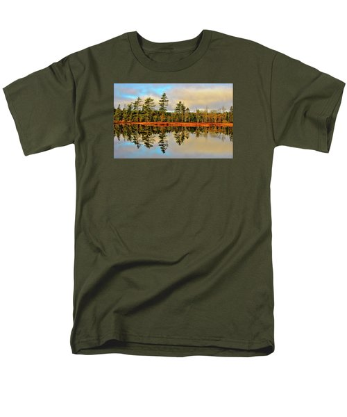 Men's T-Shirt  (Regular Fit) featuring the photograph Reflections by Kathleen Sartoris