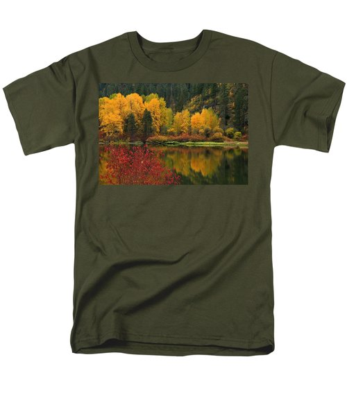 Reflections Of Fall Beauty Men's T-Shirt  (Regular Fit)