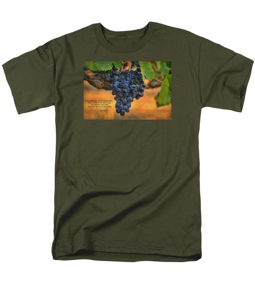 Men's T-Shirt  (Regular Fit) featuring the photograph Remain In Me by Lynn Hopwood