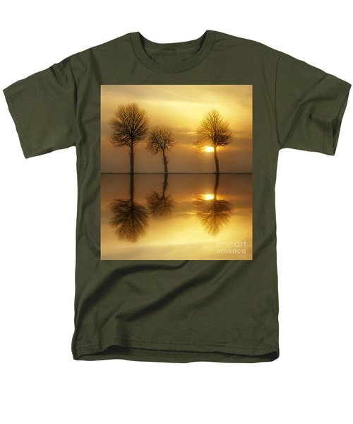 Remains Of The Day Men's T-Shirt  (Regular Fit) by Jacky Gerritsen
