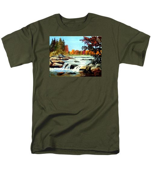 Remembering The Little Broad River Men's T-Shirt  (Regular Fit) by Jim Phillips