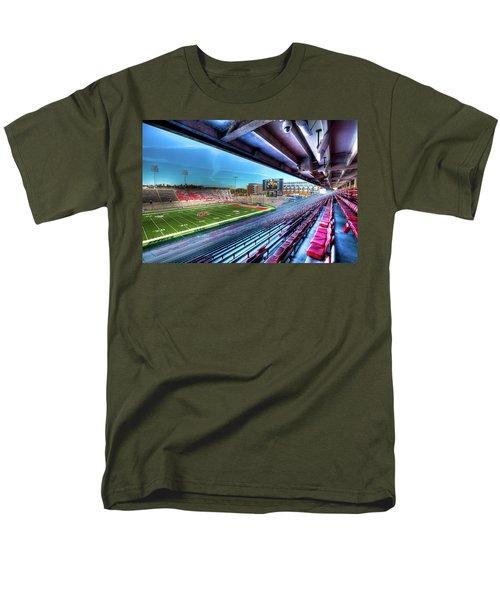 Renovated Martin Stadium Men's T-Shirt  (Regular Fit) by David Patterson