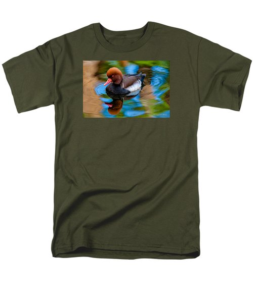 Resting In Pool Of Colors Men's T-Shirt  (Regular Fit) by Christopher Holmes