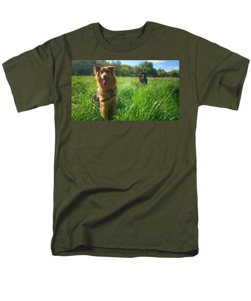 Resting Men's T-Shirt  (Regular Fit) by Isabella F Abbie Shores FRSA